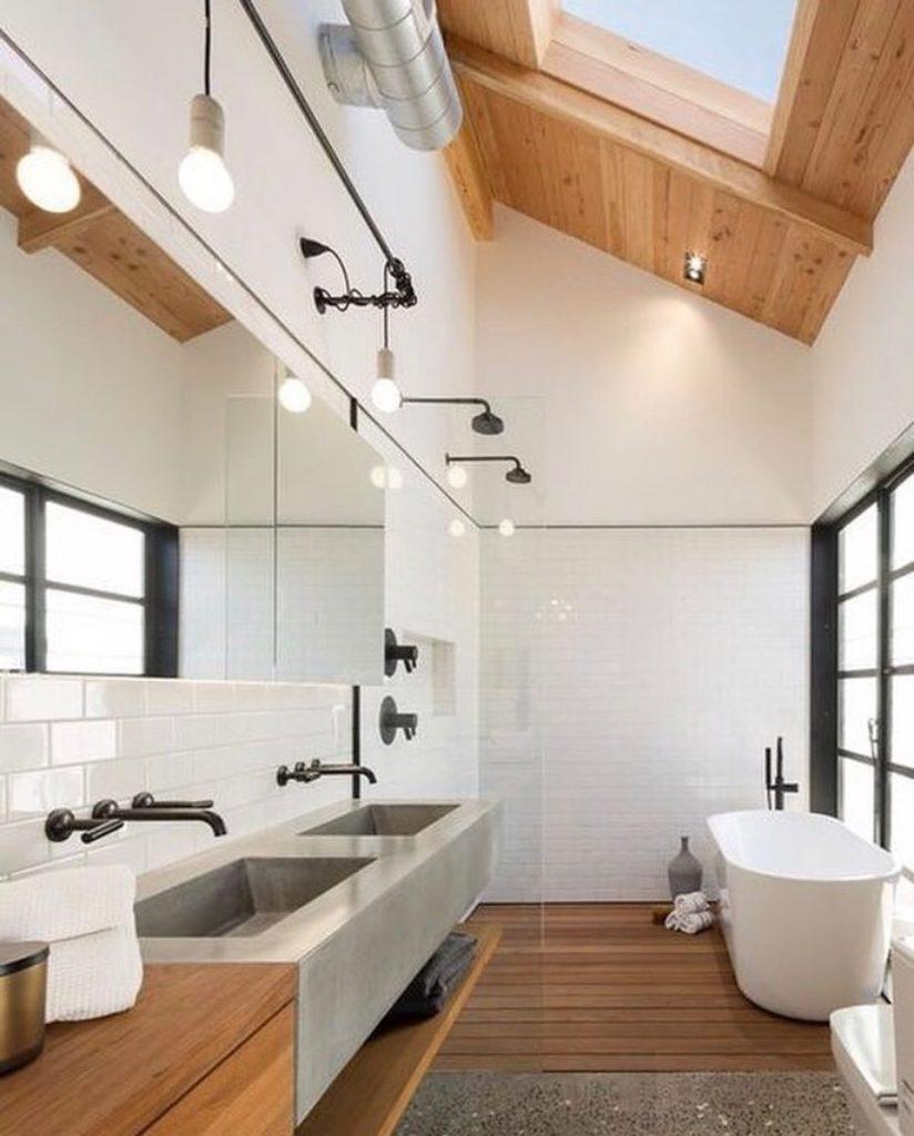 impregnacja drewna w łazience